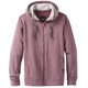 Prana M's Asbury Full Zip Hood Thistle Heather